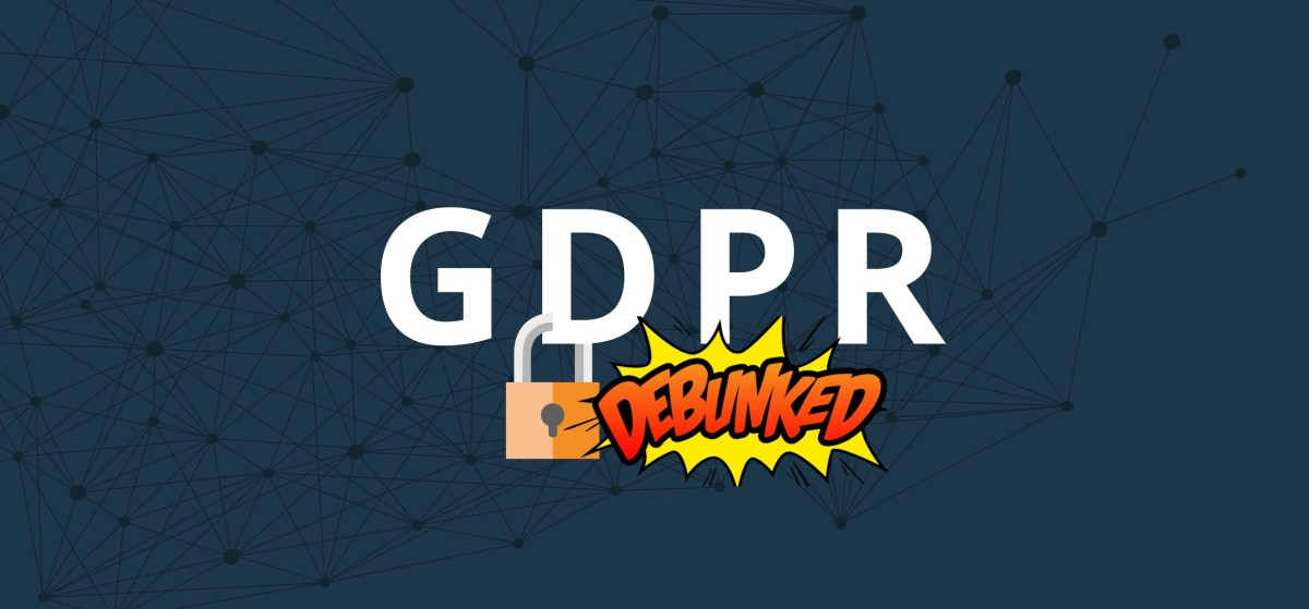 Common GDPR myths debunked